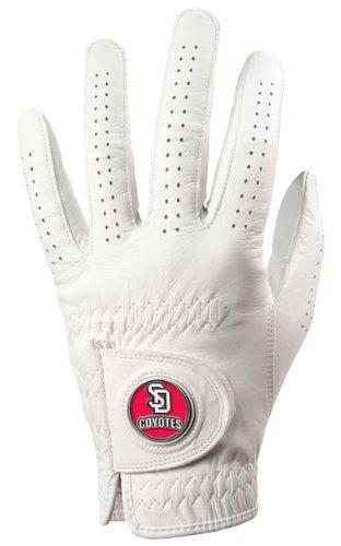 Ball Dakota South Golf (South Dakota Coyotes Golf Glove & Ball Marker - Left Hand - Small)
