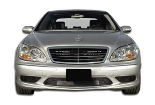 Duraflex ED-TQS-147 AMG Look Front Bumper Cover - 1 Piece Body Kit - Compatible For Mercedes S Class 2000-2002