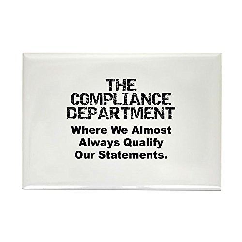 CafePress - Qualified Compliance Rectangle Magnet - Rectangle Magnet, 2
