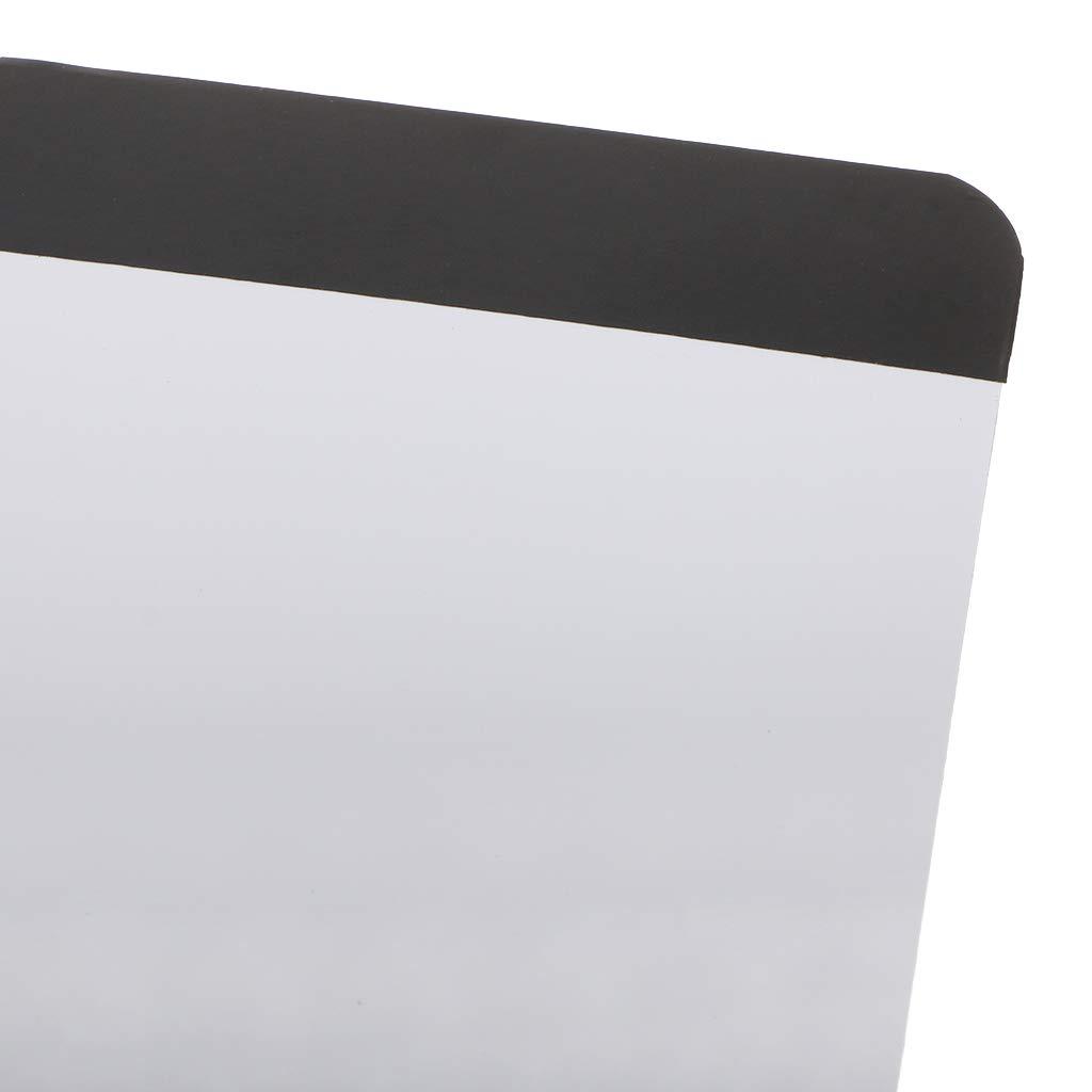 zrshygs Wochenplan Whiteboard A4 Magnetisches Schreiben Whiteboard Aufkleber K/ühlschrank Erinnerung Message Board B/üro-Startseite Memo BL