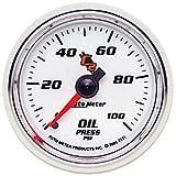 AUTO METER 7121 Oil Pressure Gauge C2 Series 0-100 Psi