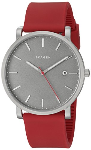 Skagen-Mens-SKW6338-Hagen-Red-Silicone-Watch