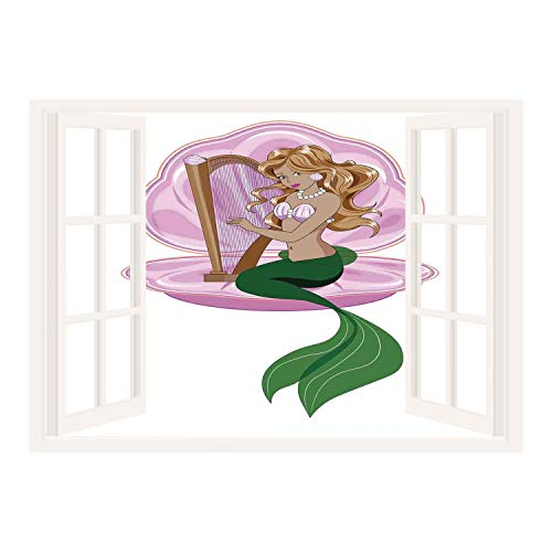 little mermaid wall cover - 4