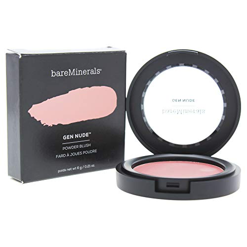 Bare Escentuals bareMinerals Gen Nude Powder Blush for Women, 0.21 Ounce, Call My Blush
