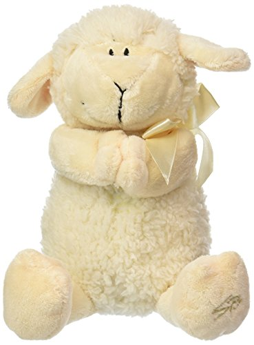 (Stephan Baby Ultra Soft and Huggable Musical Praying Woolly Lamb, Cream)