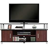 Tangkula TV Stand Home Entertainment Centre Media Storage Cabinet
