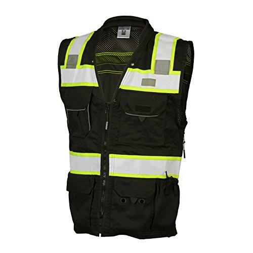 ML Kishigo B500 Lime Enhanced Visibility Professional Utility Vest (3XL) by ML Kishigo (Image #2)