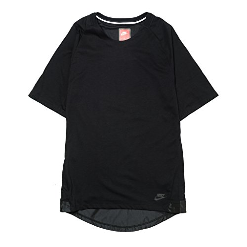 Black T-Shirt Nike NSW Bonded Knit (805122-010) XL
