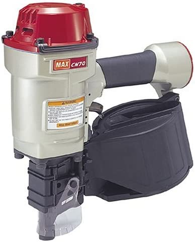 Max CN70 1-3//4-Inch to 2-3//4-Inch Heavy Duty Coil Nailer for Siding