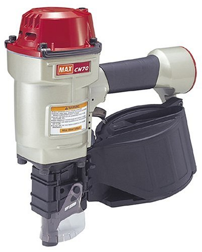Max CN70 1-3 4-Inch to 2-3 4-Inch Heavy Duty Coil Nailer for Siding