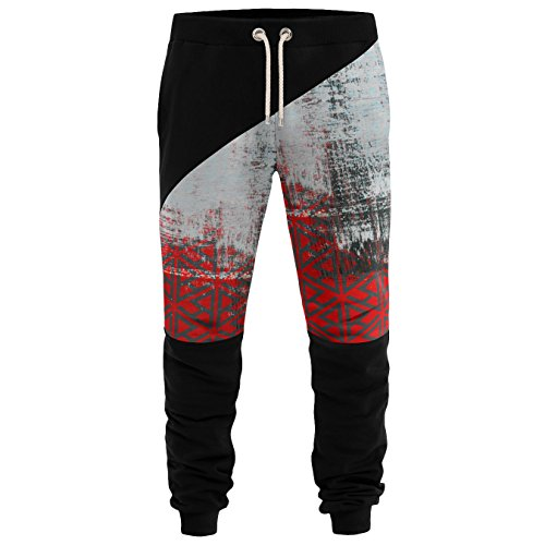 Blowhammer - Joggers Pants Herren - Chipped Red PAN