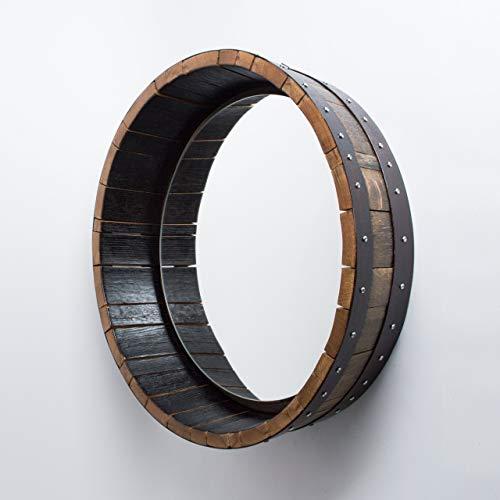 wine barrel mirror - 4