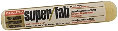 Wooster Brush 1/2-Inch Nap Super/Fab Roller Cover