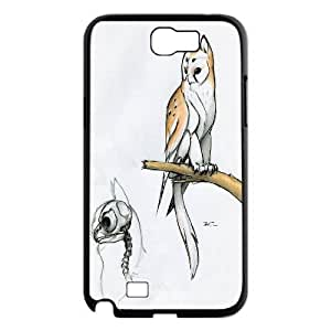 Cat Pattern Hard Case Cover Back Skin Protector For Samsung Galaxy Note 2 Case HSL379437