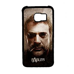 Clear Back Phone Cover For Boy Printing With Fables Bigby Wolf For S6 Samsung Choose Design 1