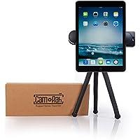 iPhone iPad Tripod - Rugged Edition - With XL Phone Mount | Ball Head | Bluetooth Remote