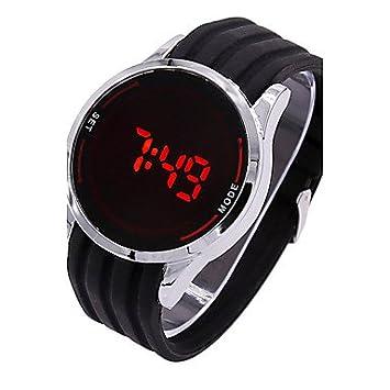XKC-watches Relojes para Hombres, Reloj Digital para Hombre Reloj Deportivo Pantalla táctil Digital