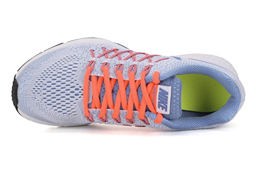 Nike Air Zoom Pegasus 32 Print, Zapatillas de Running para Hombre, Turquesa, 40 EU ghiaccio - arancio