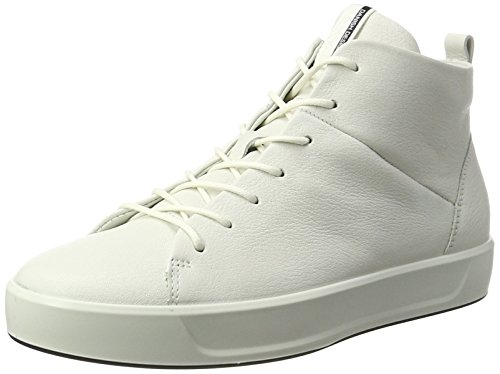 Ladies 8 Bianco Sneaker Soft White 1007 ECCO Alte Donna TqpRzawng