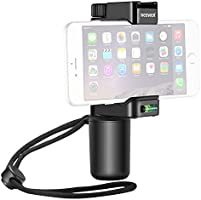 Neewer Smartphone Rig Filmmaker Grip Tripod Mount with Cold Shoe Mount and Width Adjustable Phone Clip Holder 2-3.6...