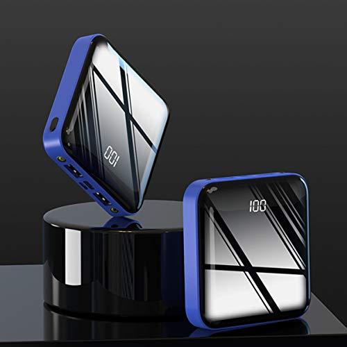 LoveOlvidoF 5000 Mah Digital Display Charging Treasure Fuente de alimentación móvil ultradelgada Fashion Mini Power Bank…