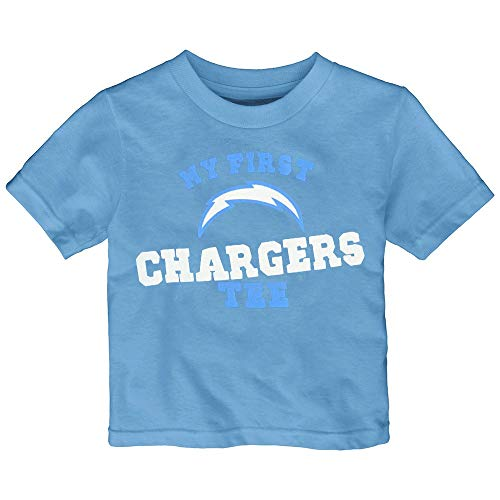 Outerstuff Los Angeles Chargers NFL Infant Blue My New First Tee T-Shirt ()