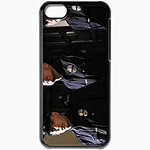 Personalized iPhone 5C Cell phone Case/Cover Skin P Prison Break 4 season 10211 Black