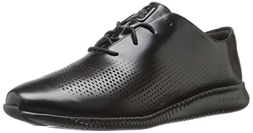 Cole Haan Womens 2.zerogrand Laser Wing Oxford Zwart Leer