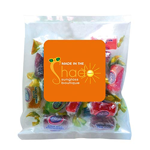 Candy Gift Pack-Jolly Ranchers with CUSTOMIZED in Personalized Small Label Pack-BULK Quantities of 250, 500, 1000, 2500…
