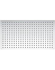 BERNSTEIN DE LUXE douchekoppen van verchroomd roestvrij staal, rechthoekig DPG2051-50x30 cm