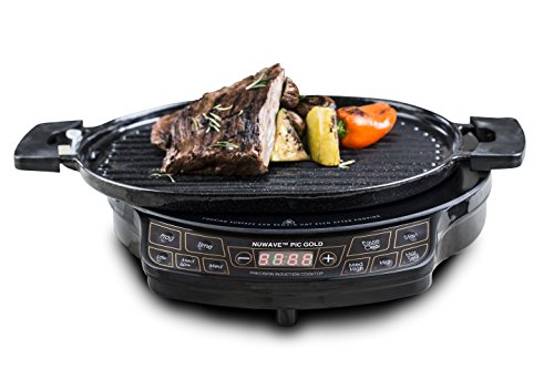 Nuwave PIC2 - NuWave Precision Induction Cooktop 2 with Grill (Nuwave Cast Iron Grill Pan compare prices)