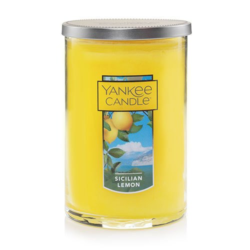 Yankee Candle Sicilian Lemon Large 2-Wick Tumbler Candle, Fruit Scent from Yankee Candle