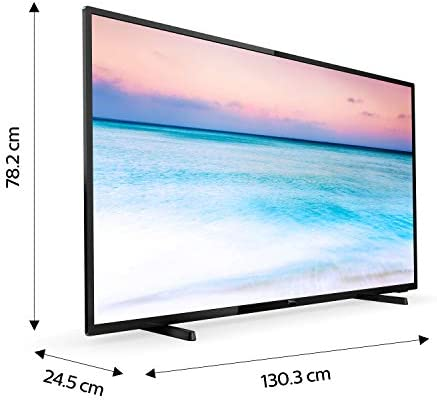 Philips 58PUS6504/12 - Smart TV LED 4K UHD, 58 pulgadas, Resolución de pantalla 3840 x 2160, Negro brillante: Amazon.es: Electrónica
