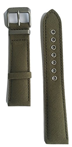 Authentic Hamilton Khaki Field Green Canvas Band Strap for H69419363 or H69419933 by Hamilton