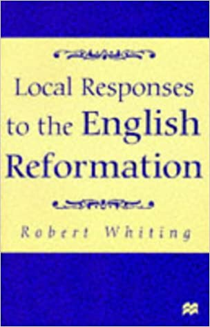 Book Local Responses to the English Reformation