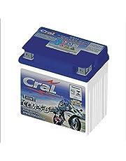 Bateria AGM Moto Cral 12V 5Ah CLM5D START FLEXONE JOB 160 ESDI ESPECIAL NXR BROS ES MIX FLEX POP XL