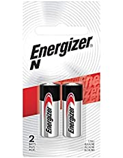 Energizer Alkaline Batteries N Size (2 Battery Count) - Packaging May Vary