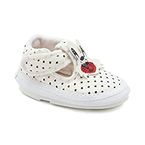 CHIU Musical Star Pattern Black Shoes for Baby Boy & Baby Girl