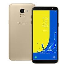 Samsung Galaxy J6 (SM-J600G/DS) 2GB/32GB 5.6-inches LTE Dual SIM Factory Unlocked - International Stock No Warranty (Gold)