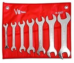 V8 Tools (V8 8307) 7 Piece Super Thin Wrench Set
