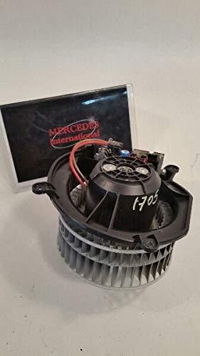 2006 Mercedes-Benz CLS500 Heater/AC blower motor 2118300908 w/regulator
