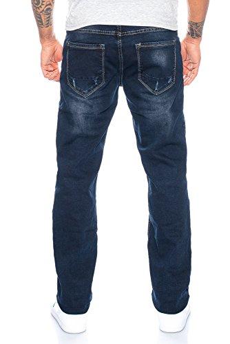 Herren Jeans Hose Straight Fit ID457