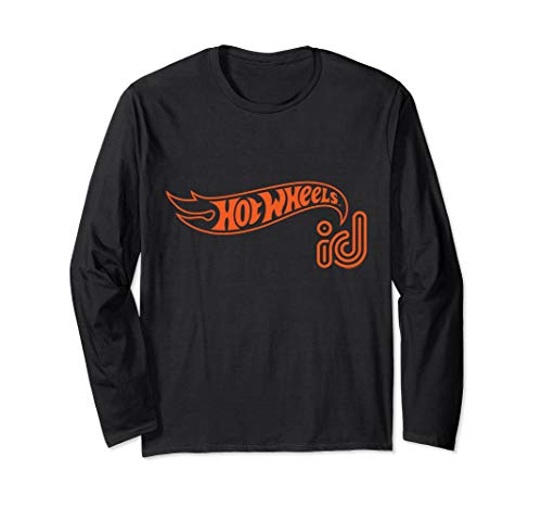 - Hot Wheels ID Orange Logo Long Sleeve T-Shirt
