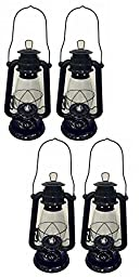 Shop4Omni Black Hurricane Kerosene Lantern Wedding Hanging Light Camping Lamp - 12\