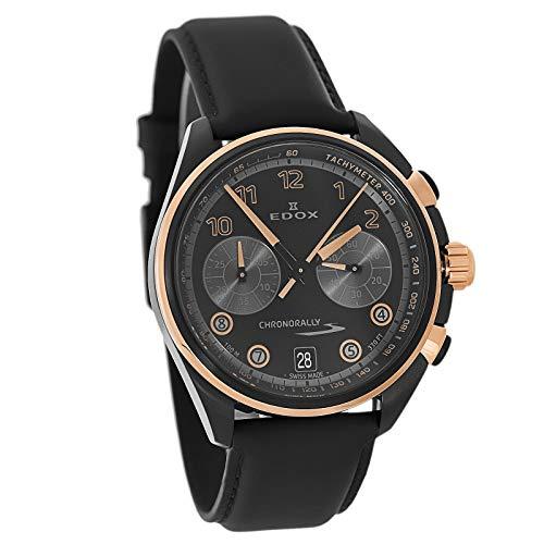 Edox Men's Chronorally S Swiss Chronograph Watch 09503 37NRCN NNR