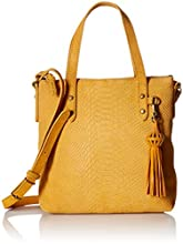 The Sak Sophie Crossbody Satchel, amber exotic