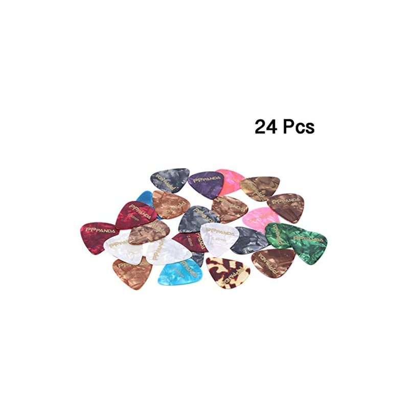PPpanda Guitar Picks 24 pcs, Guitar Plec