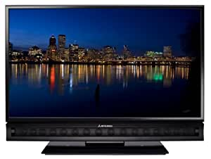 Mitsubishi LT-52151 52-Inch 1080p 120Hz LCD HDTV with Integrated Sound Projector, Black