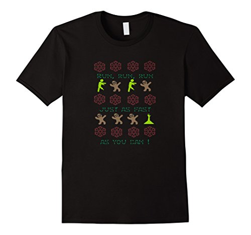 Gingerbread Zombies Ugly Christmas Tee Shirts