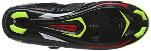 Shoes cyclistes Yellow fibres VCX semelles Fluoro paire carbone Black Cycle Chaussures VeloChampion de avec wTvqEn1RHR